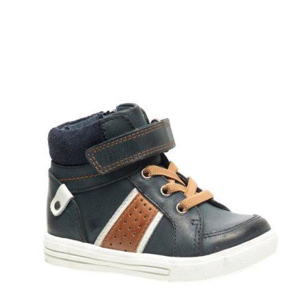 – Stapp leren sneakers jongens (blauw)