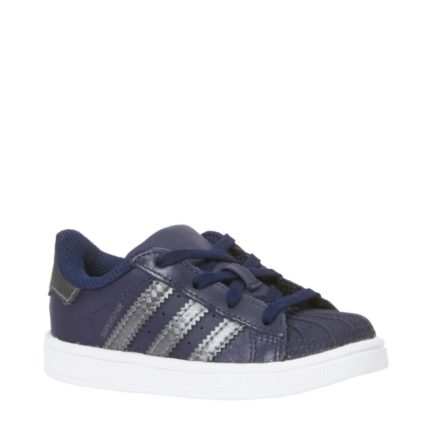 adidas originals Superstar I sneakers kids (blauw)
