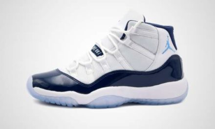 "Nike Air Jordan XI Retro GS ""Midnight Navy blauw"" Sneaker"