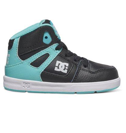 Rebound Ul - High-Top Shoes for Boys - Black - DC Shoes zwart
