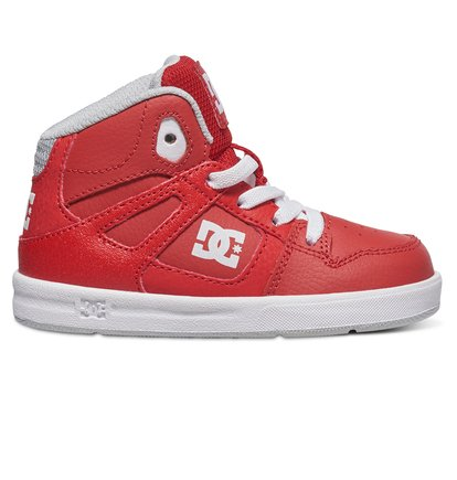 Rebound Ul - High-Top Shoes for Boys - Red - DC Shoes rood