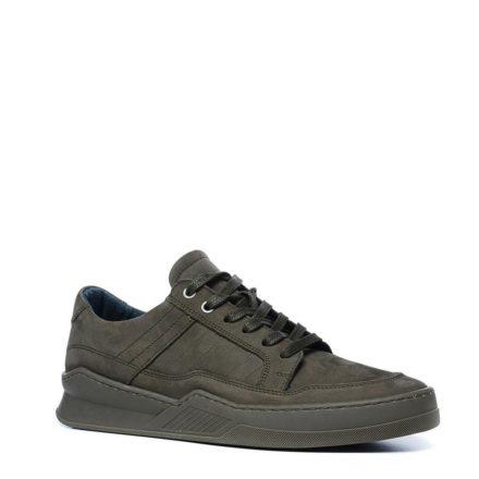 Manfield nubuck sneakers (groen)