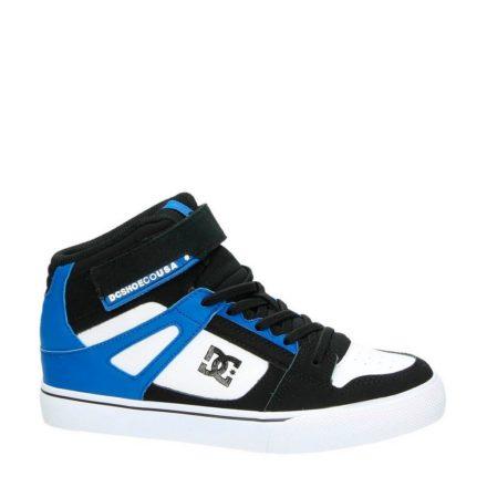 DC suède sneakers jongens (zwart)
