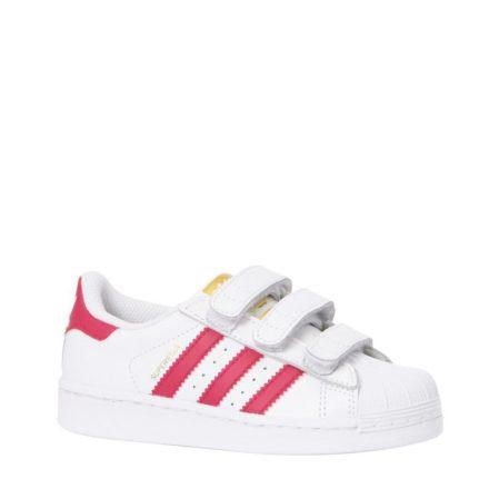 adidas originals Superstar Foundation C sneakers meisjes (wit)