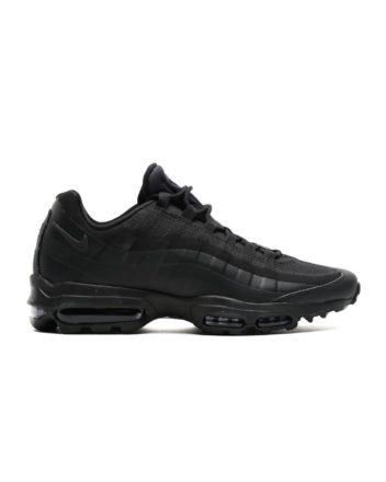 NIKE Air Max 95 Ultra Essential Shoe (Black/Black-Black)