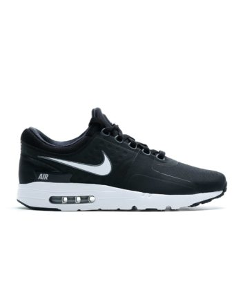 NIKE Air Max Zero Essential Shoe (Black/White-Dark Grey-Wolf Gre)