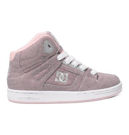 Rebound TX SE - Hoge Schoenen voor Kids - Pink - DC Shoes roze