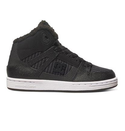 Rebound WNT - Hoge Schoenen voor Kids - Black - DC Shoes zwart
