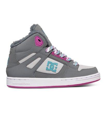 Rebound WNT - Hoge Schoenen voor Kids - Gray - DC Shoes Overige kleuren