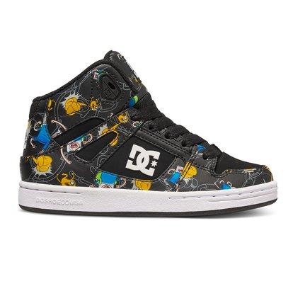 Rebound X At B - Hoge schoenen voor Jongens - Gray - DC Shoes Overige kleuren