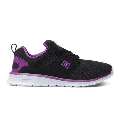Heathrow - Lage Schoenen voor Meisjes - Black - DC Shoes zwart