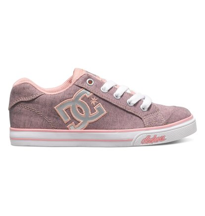 Chelsea TX SE - Low-Top Shoes for Girls - Pink - DC Shoes roze