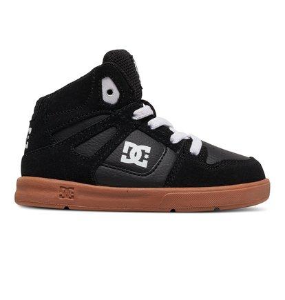 Rebound SE UL - Hoge Schoenen voor Jongens - Black - DC Shoes zwart
