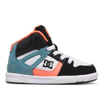 Rebound SE UL - Hoge Schoenen voor Jongens - Orange - DC Shoes oranje