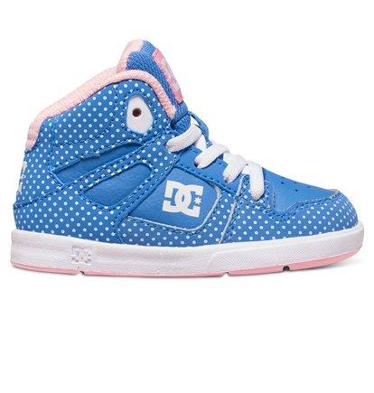 Rebound SE UL - Hoge Schoenen voor Jongens - Blue - DC Shoes blauw
