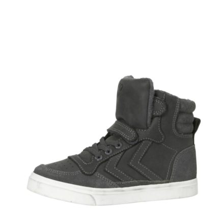 Hummel Stadil leren sneakers kids (grijs)