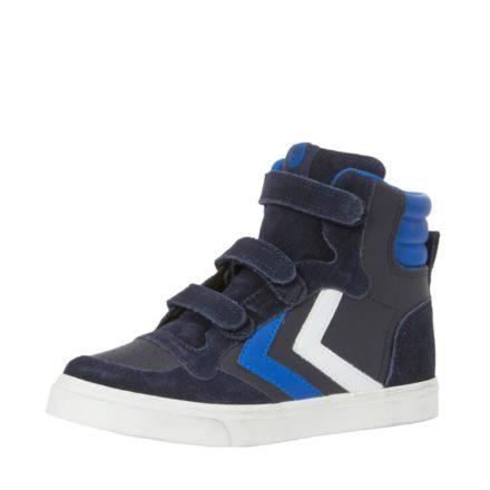 Hummel Stadil leren sneakers jongens (zwart)