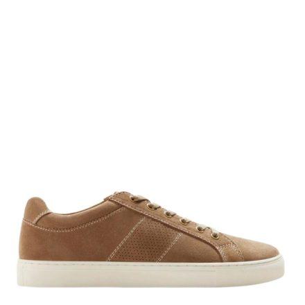 Mango Man suède sneakers (bruin)