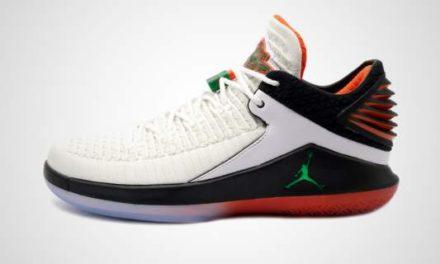 "Nike Air Jordan XXXII Low ""Gatorade"" Sneaker"