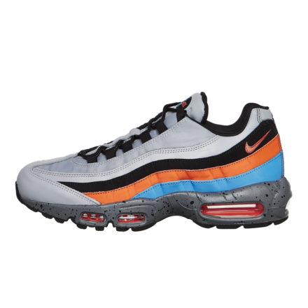 Nike Air Max 95 Premium (grijs/oranje/blauw)