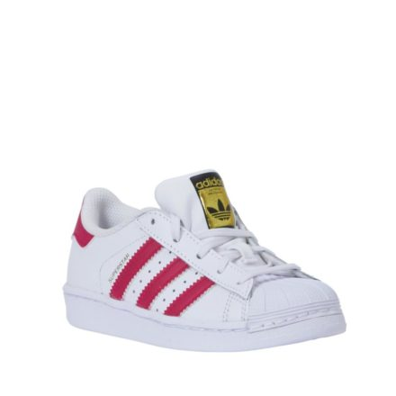 adidas originals sneakers Superstar Foundation C meisjes (wit)