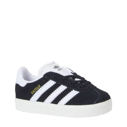 adidas originals Gazelle I sneakers jongens (zwart)