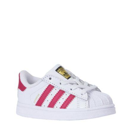 adidas originals Superstar I sneakers meisjes (wit)