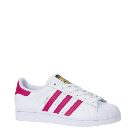 adidas originals sneakers Superstar Foundation meisjes (wit)