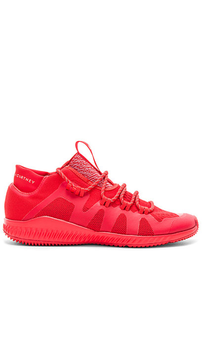 adidas by Stella McCartney CrazyTrain Bounce Sneaker in Red. - size 6 (also in 6.5