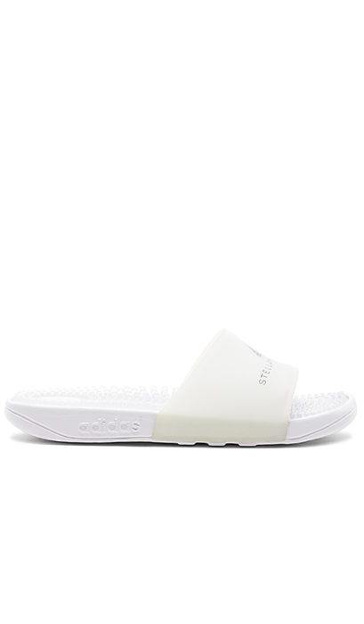 adidas by Stella McCartney Adissage Sandal in White. - size 5.5 (also in 6.5