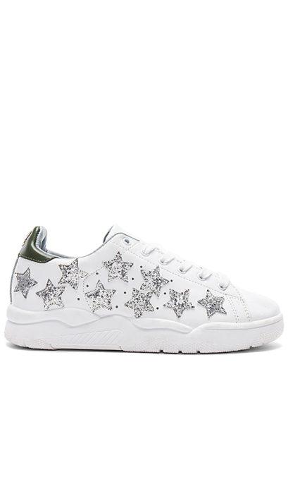 Chiara Ferragni Stars Sneaker in White. - size 35 (also in 36