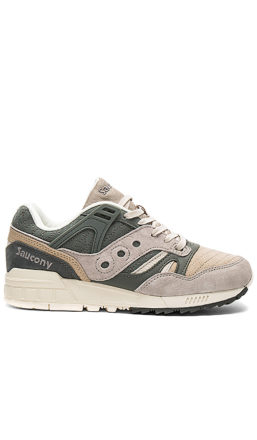 Saucony Grid SD Quilted in Olive