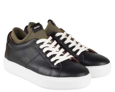Shabbies Amsterdam Sneaker 101020012 (Zwart)