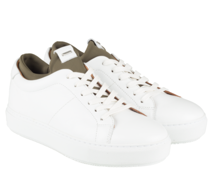 Shabbies Amsterdam Sneaker 101020012 (Wit)