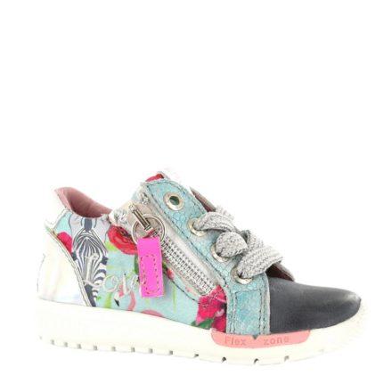 Shoesme leren sneakers meisjes (roze)