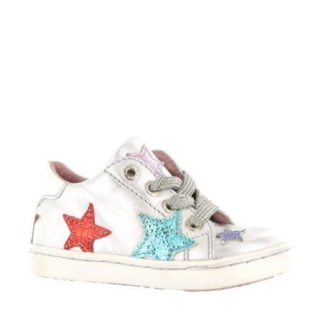 Shoesme leren sneakers meisjes (wit)