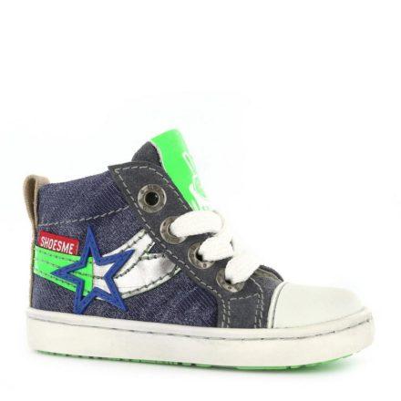 Shoesme leren sneakers jongens (blauw)