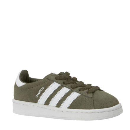 adidas originals Campus EL I sneakers kids (groen)