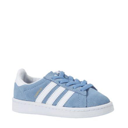 adidas originals Campus EL I sneakers kids (blauw)