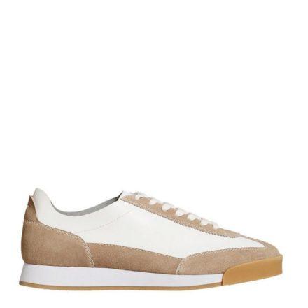Mango Man leren sneakers (wit)