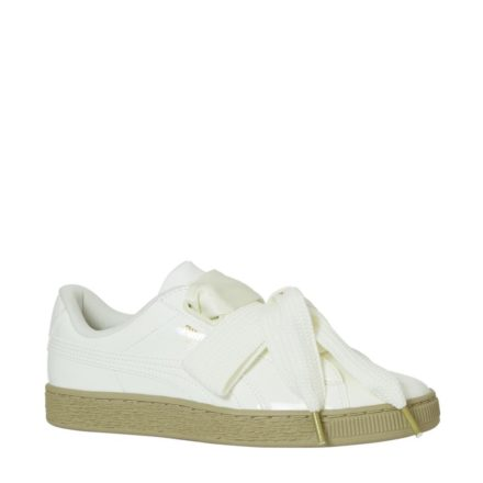 Puma Basket Heart Patent sneakers (wit)