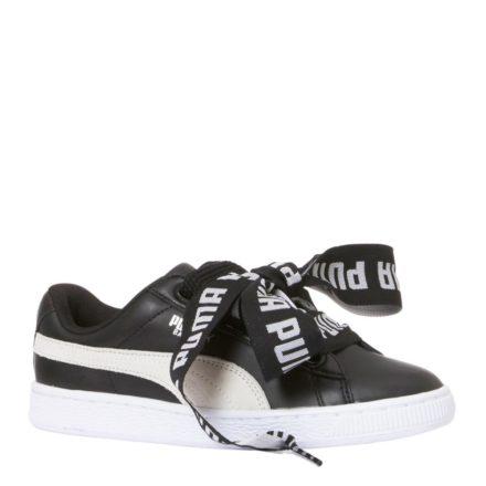 Puma Basket Heart DE sneakers (zwart)