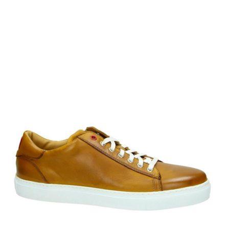 Greve leren sneakers (bruin)