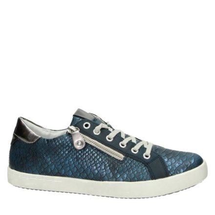 Remonte metallic sneakers (blauw)