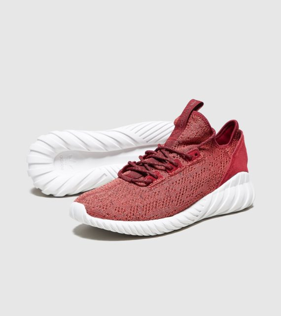 adidas Originals Tubular Doom Sock (rood/wit)