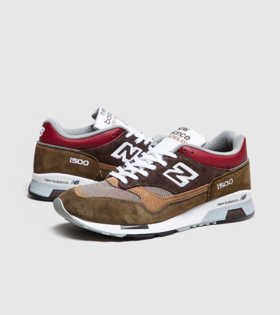 New Balance 1500 'Made in UK' (bruin/rood)