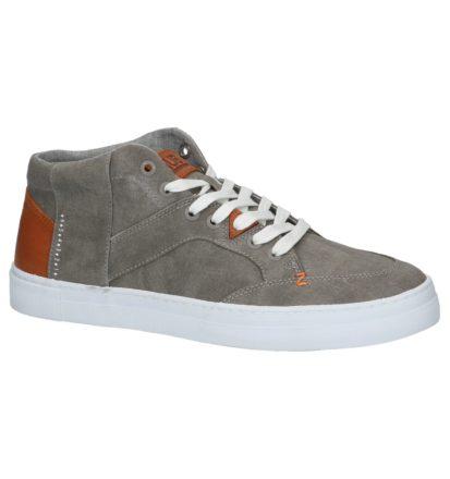 Grijze Hoge Geklede Sneakers Hub Kingston