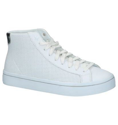 Skechers Memory Foam Witte Hoge Sportieve Sneakers