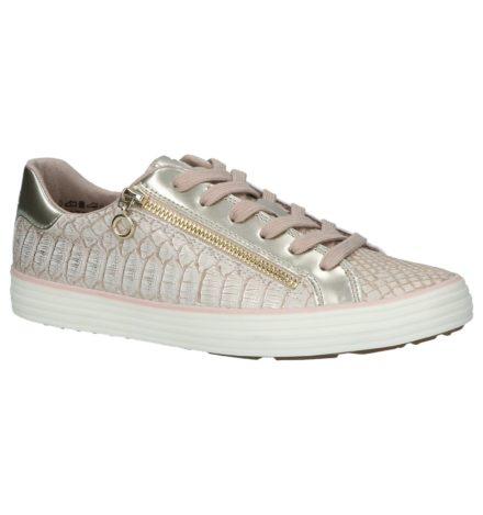 S. Oliver Lage Geklede Sneakers Rosé