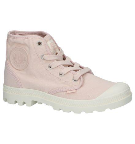 Roze Sneakers Palladium Pampa Hi